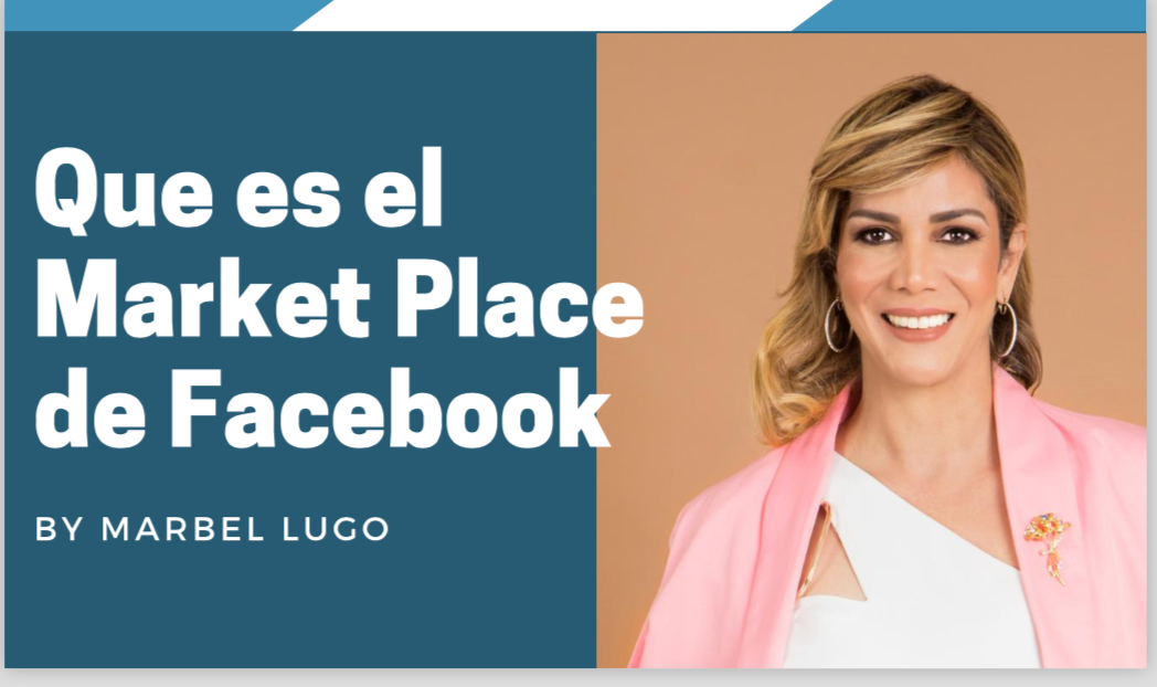 Que es el MarketPlace de Facebook?